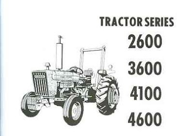 owners tractor parts shop ford tractor 2600 3600 4100 4600 owners instruction service operator s maintenance manual 1975 1976 1977 1978 1979 1980 1981 ford tractor 2600 3600