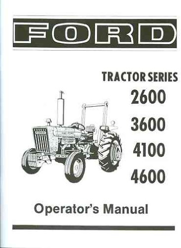 Ford 4100 owner s Manual